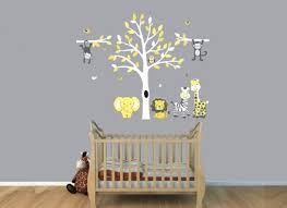 paints tree stickers for wall nursery