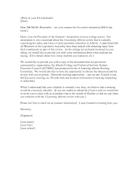 Mla Cover Letter Best Business Template