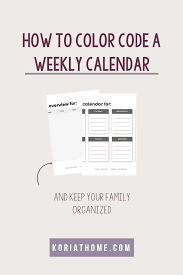 All calendars print in landscape mode (vs. Color Coded Daily Schedule Printable For Autism