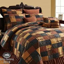 27 best King Quilt Sets On Sale images on Pinterest | Velvet ... & country+quilts | ... Primitive Patchwork Twin Queen CAL King Size Quilt  Bedding Adamdwight.com