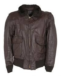70s brown leather flight pilot g1 jacket