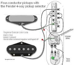 4 way telecaster wiring diagram best of 4 way switch backward best fender humbucker wire color code at Fender Wire Diagram Color Codes