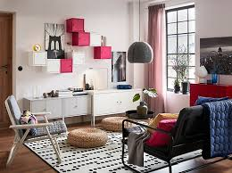 ikea livingroom furniture. A White Living Room With Free-standing And Wall Mounted LIXHULT Cabinets In White, Ikea Livingroom Furniture