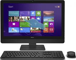 Dell Inspiron 5348 i5348-5557BLK 23-Inch All-in-One Touchscreen Desktop