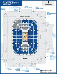 Unexpected Allen Fieldhouse General Admission Seating Chart 2019