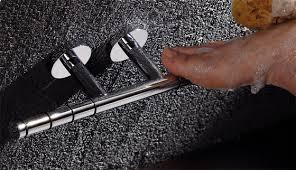 heavy duty brass shower shaving foot rest shelf chrome