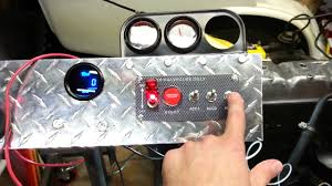 how to wire a 12v ignition switch engine start push button 3 toggle how to wire a 12v ignition switch engine start push button 3 toggle panel indicator light