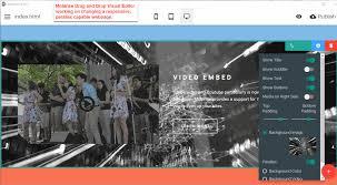 Video Website Template Beauteous Mobirise JavaScript Website Developer