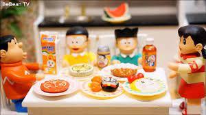 Đồ chơi Doremon mini Nhật Bản - Shizuka Tài Nấu Ăn, Vệ Sĩ phim Hoạt Hình  Doraemon stopmotion – Видео Dailymotion