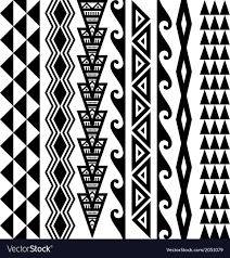 Kakau Designs And Meanings Hawaiian Kakau Tattoo Collection Download A Free Preview Or