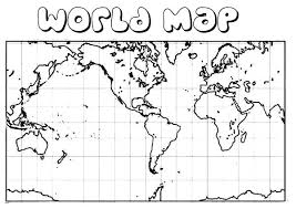 Small Picture Map Of The World Coloring Page Free You can see a map of many