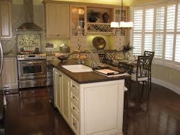 image of dark kitchen cabinets with dark hardwood floors vintage