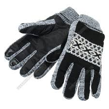 thickening warm leather gloves touch screen for motorcycle cycling skiing skateboard men