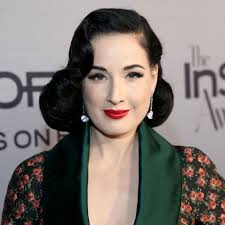 dita von teese on body makeup crossfit and her secret to perfect brows