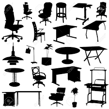isometric office furniture vector collection. office furniture set stock vector 8922338 isometric collection