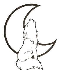 Small Picture Cartoon Howling Wolf Coloring Pages Cartoon Coloring pages of
