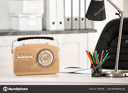 office radio.  Radio Office Radio Simple Radio Stylish Receiver On Table U2014  Stock Photo With With Office Radio I