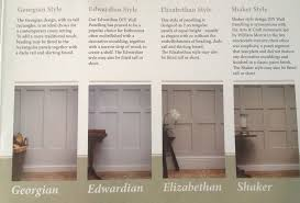 moisture resistant wall cladding panels shaker georgian you choose made to order