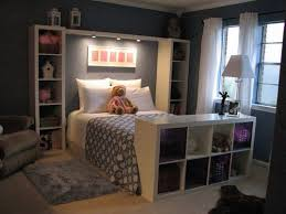 Bookshelves To Frame The Bed. Home BedroomIkea Girls BedroomGirls Bedroom  StorageBedroom ShelvingBedroom Decor For Small ...