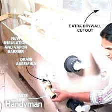 replacing bathtub drain lling seal how to ll sealing