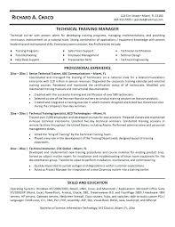 Technical Trainer Resume Trainer Resume It Technical Trainer Resume Example Dog Trainer
