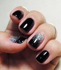 best 25 black nail designs ideas on black nail black