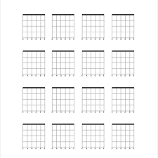 Blank Chord Chart Explanatory Blank Chord Sheets Blank Chord Chart Sheets