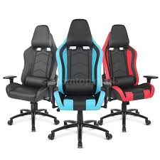 executive computer chair. executive pu leather high back office desk race car seat racing gaming chair tm | ebay computer