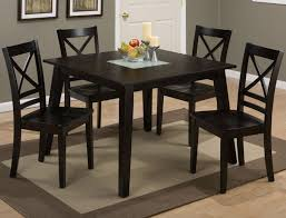 roasted java 5 piece dining set counter height dining tableoak