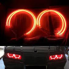 Halo Light Kits For Cars 4pcs Lot White Blue Green Orange Yellow Car Ccfl Halo Rings