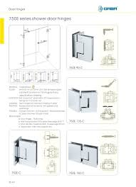 awesome types of shower door hinges medium size hinge gasket doors stupendous image concept glass awesome