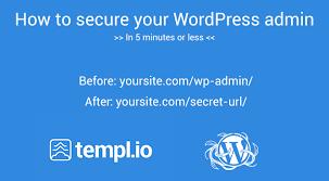 change wp admin login url