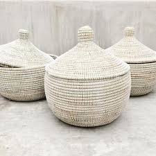 woven basket with lid. Woven African Storage Baskets And Hampers Connectedgoods Com With Lids Basket Lid P