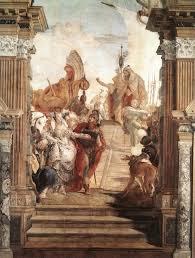 the tragedy of antony and cleopatra painting by tiepolo painting by tiepolo scene from antony and cleopatra
