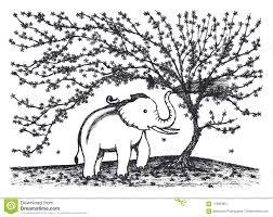 Elefante Del Bambino Che Gioca Acqua Nellambito Della Progettazione