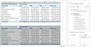 Filtering Multiple Excel Pivot Tables with a Single Slicer ...