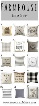 Farmhouse Pillow Covers