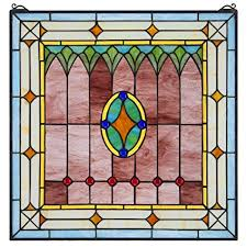 stained glass window hangings is stained glass items for is craftsman style stained glass windows