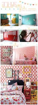 Little Girls Dream Bedroom The Loveliest Little Girls Room Using The Rabat Stencil A Stencil