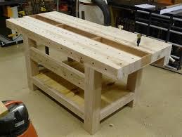 Roubo21st Blend Workbench  By WoodWrangler  LumberJockscom Roubo Woodworking Bench
