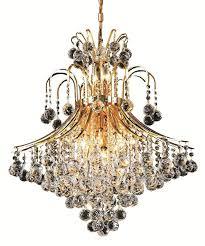 toureg 15 light 25 inch gold dining chandelier ceiling light in elegant cut
