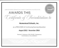 Homestead Schools Inc