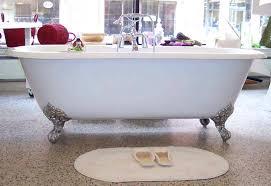 bathtub claw feet cast iron tub monarch imperial light