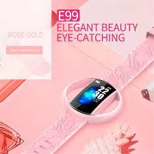 <b>E99</b> Smart Women Watch Fashion <b>Smart Bracelet</b> Heart Rate Blood ...