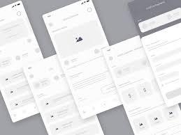 Ui Ux Design Wireframes Wireframe Screen Charity App By Sadbin Walid On Dribbble