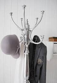 Chrome Coat Rack Stand A Chrome coat rack from The White Cottage Living 59