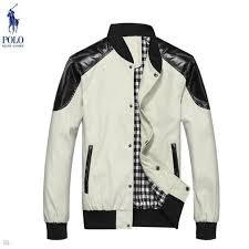 mens ralph lauren white leather jackets 14