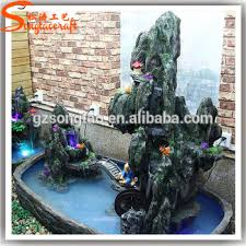 fountains for sale. Indoor Customized Fiber Glass Artificial Rockry Fountain Project Concrete Fountains For Sale S