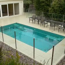 11 pool semi framed glass fencing