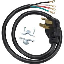 four prong dryer outlet. Exellent Prong GE 4 Ft 4Prong 30 Amp Dryer Cord And Four Prong Outlet R